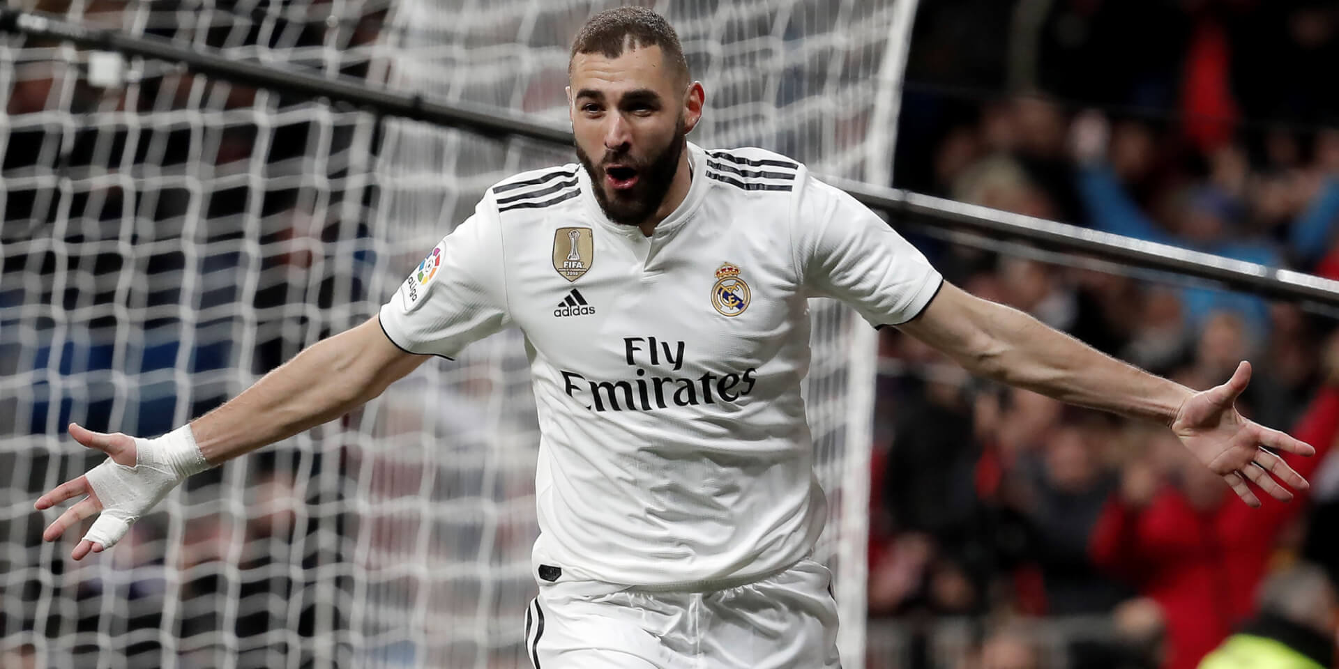 Benzema scores more than Ronaldo