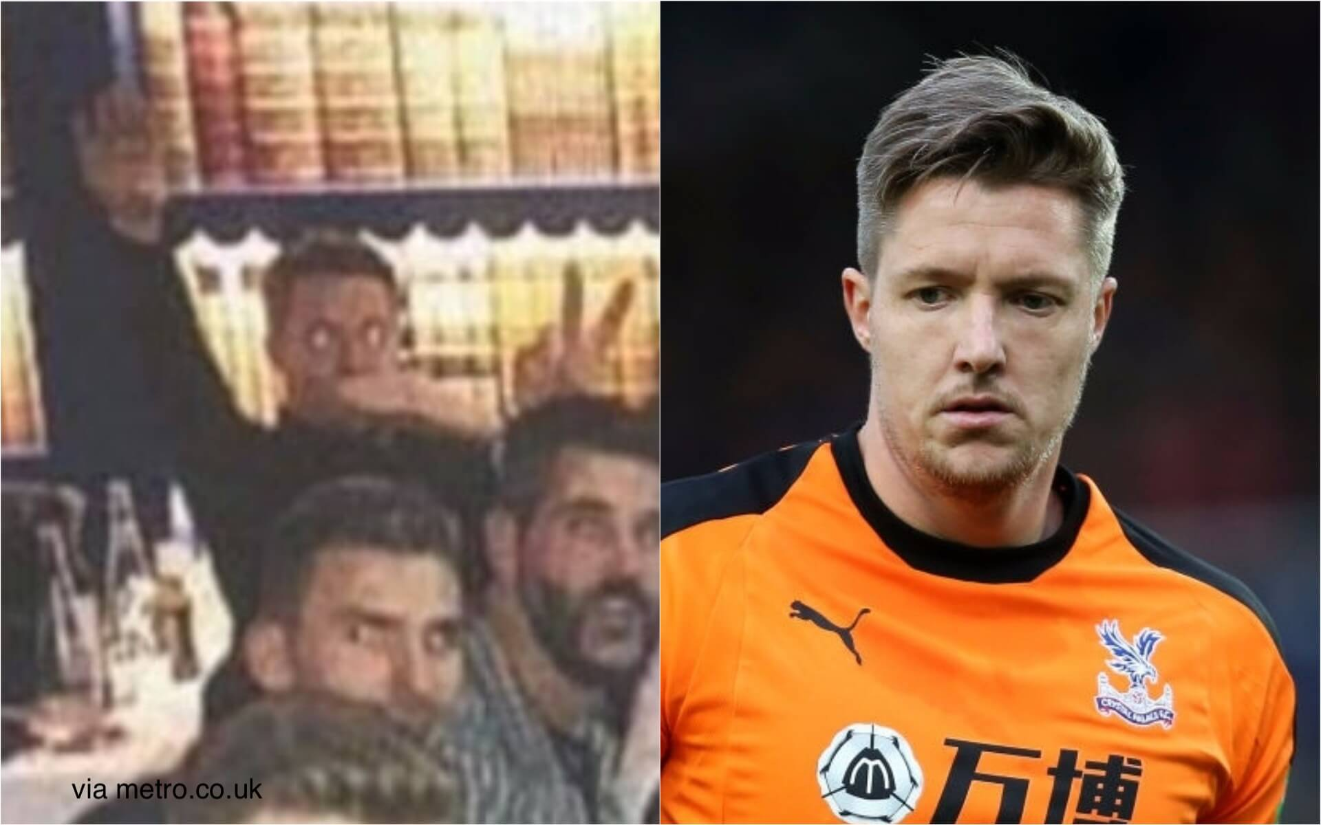 British goalkeeper desperately wants to learn about Hitler. Why would he?