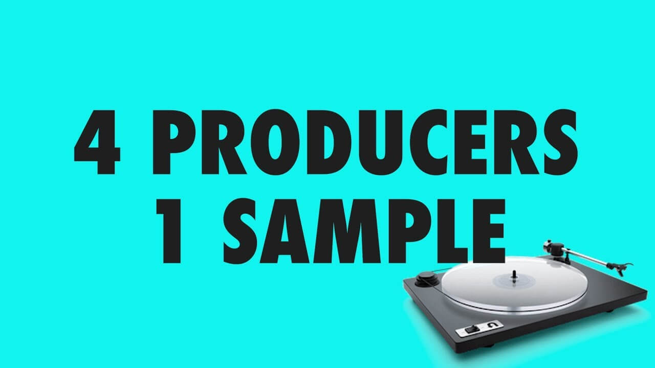 4 producers 1 sample video