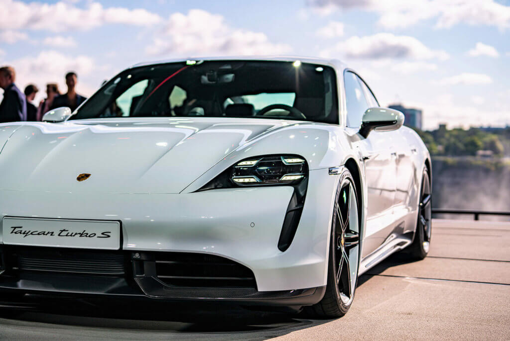 first electric sport car from Porsche price