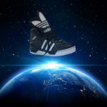 adidas in space