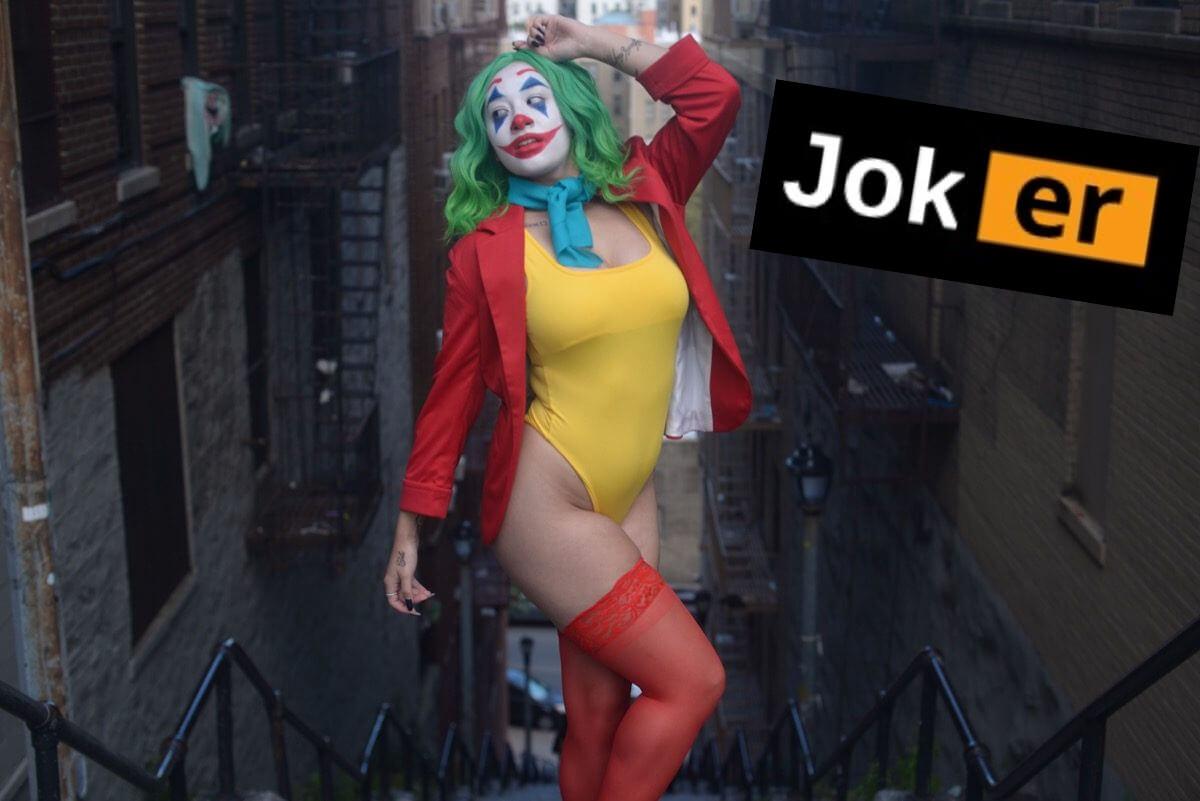Opinion you the joker boob funny right! Idea