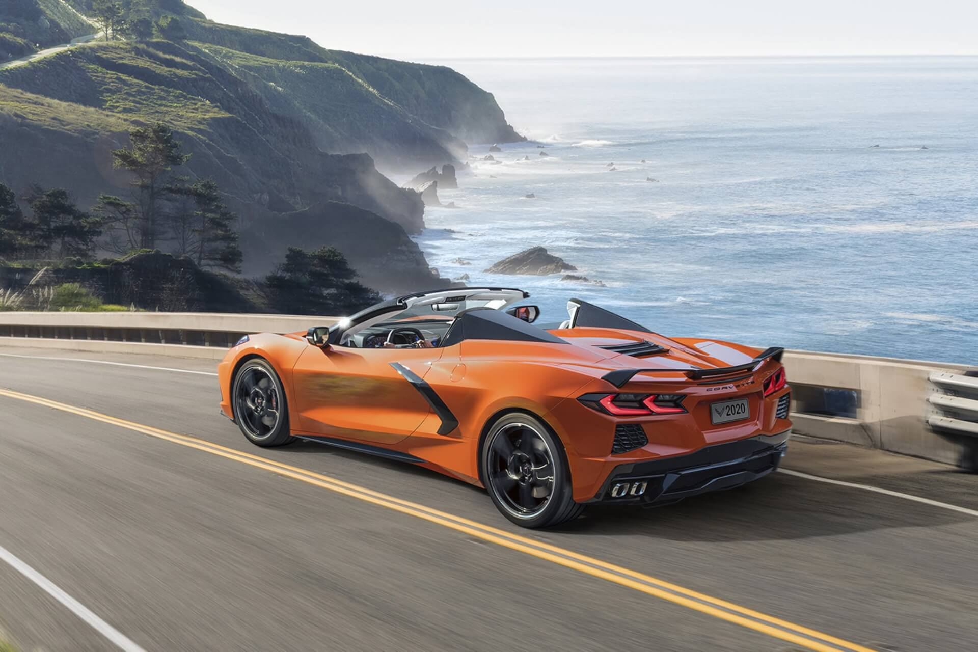 Sexy Corvette C8 — Superstar Sports Car of 2020