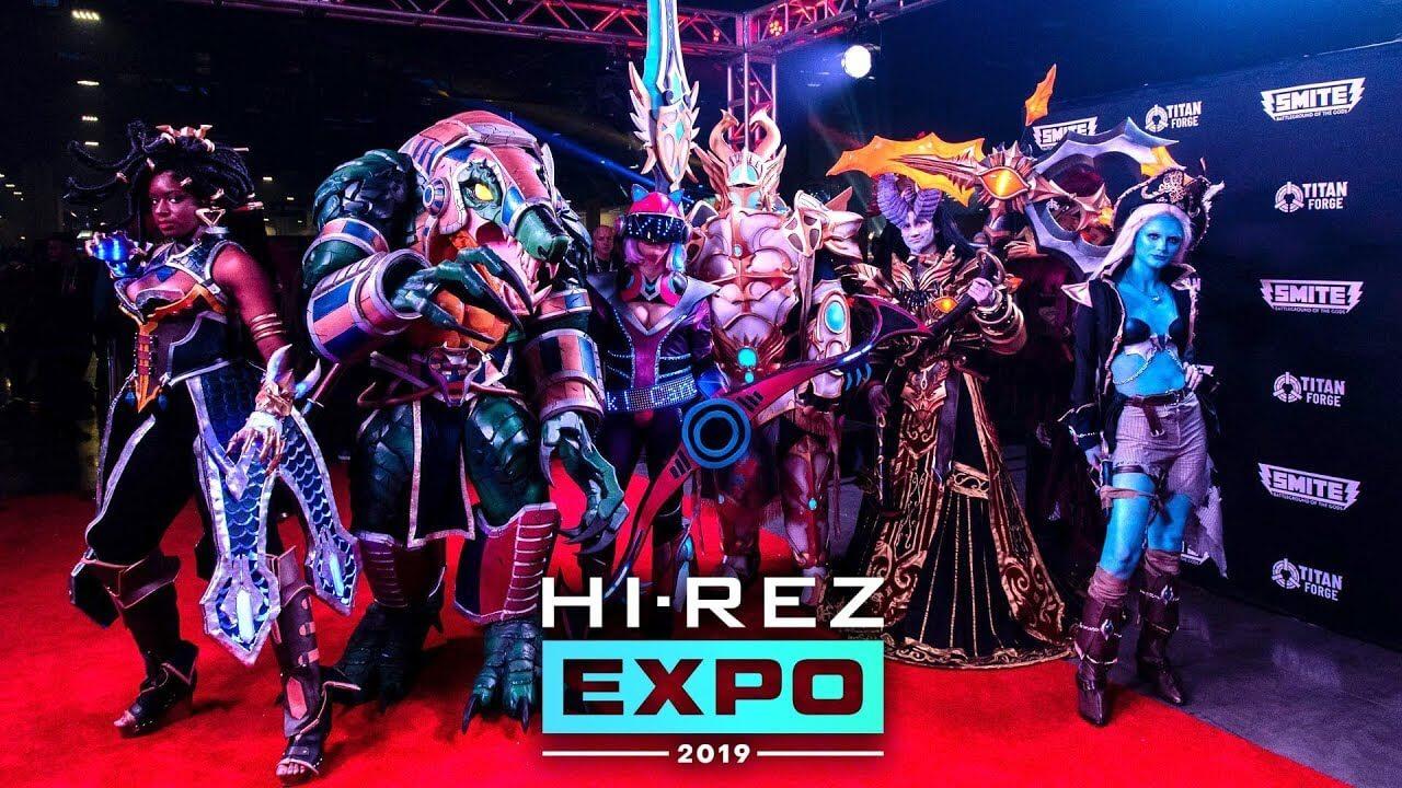 Most Interesting Events on Hi-Rez Expo 2019