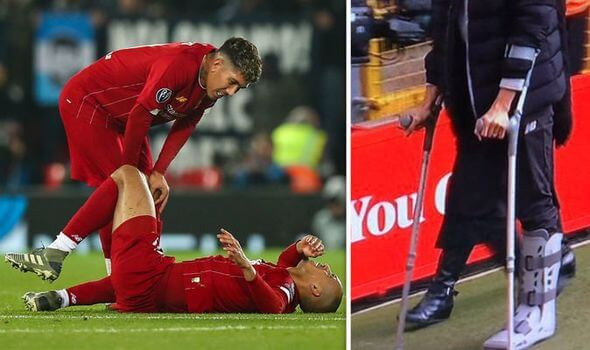 Fabinho Massive Injury