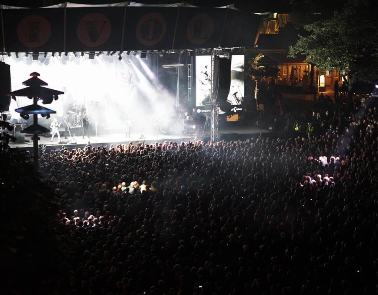 Fredagsrock i Tivoli Musik Festival