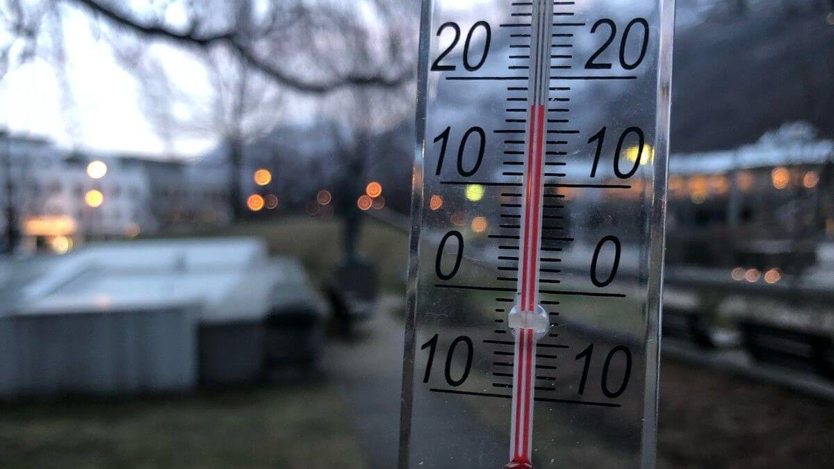 Norway winter temperature