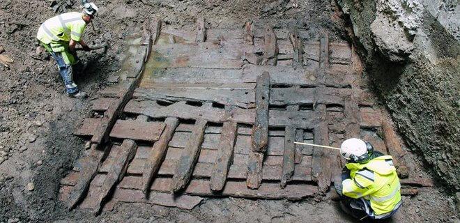 Ancient Ship Stockholm