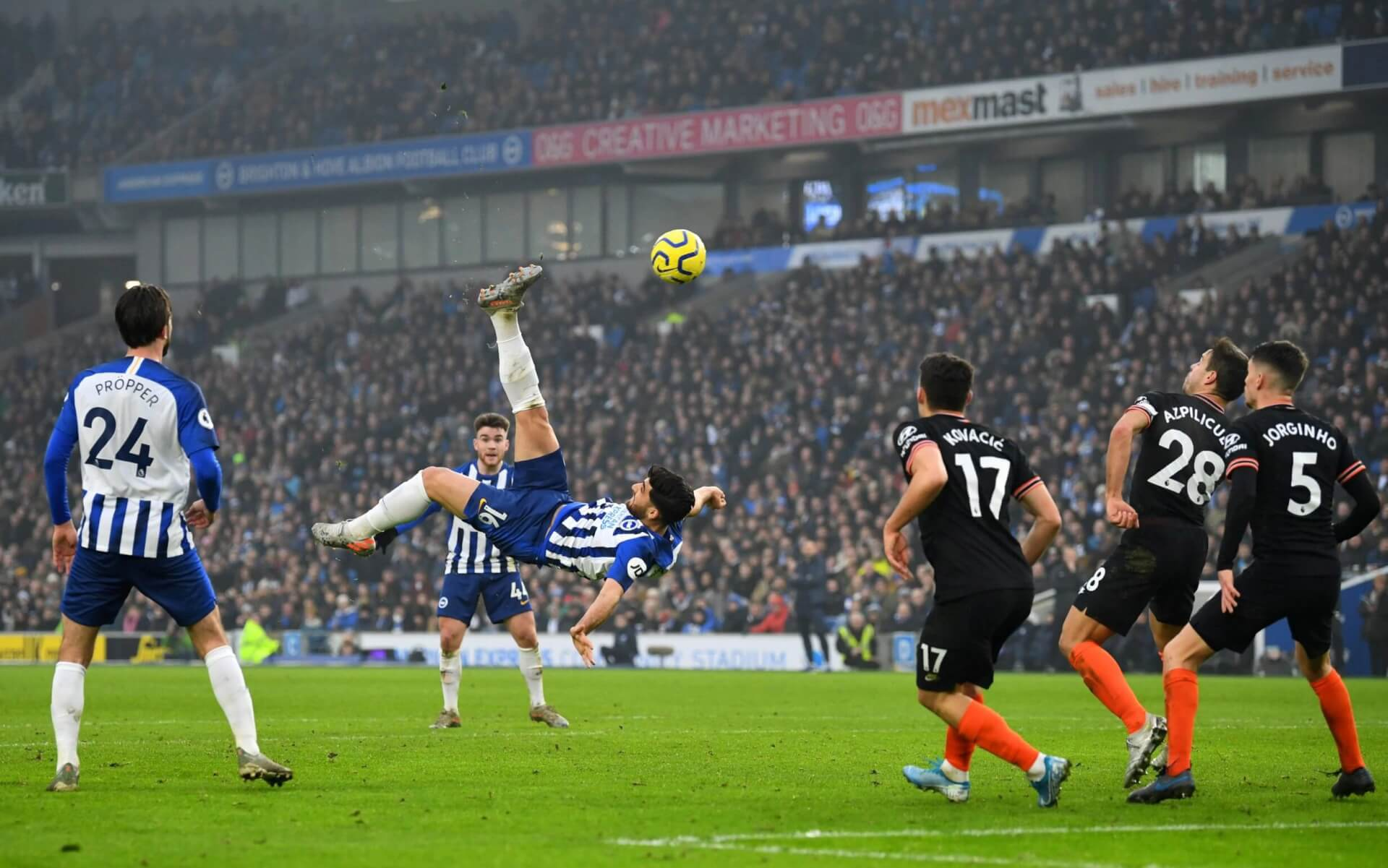 The Best Goal of 2020. Chelsea - Brighton