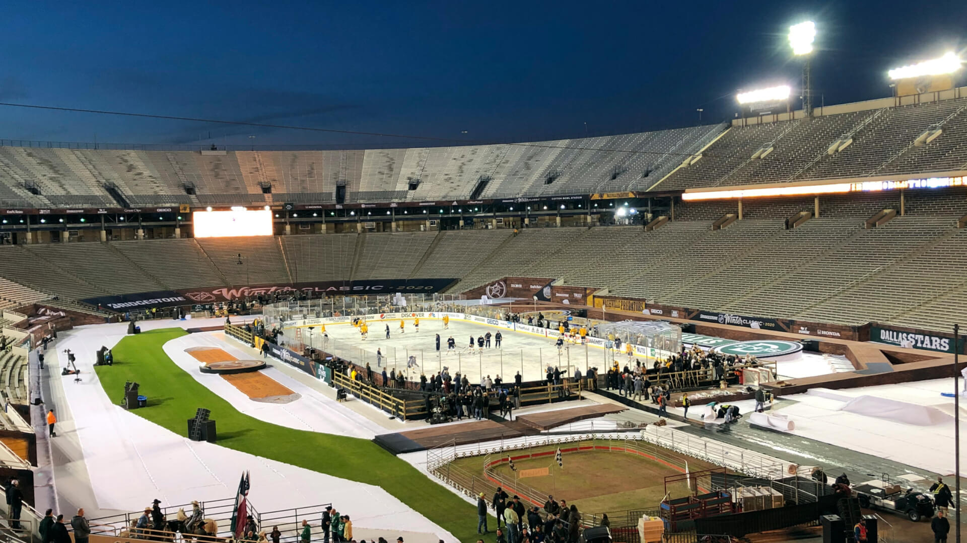 Unpredictable Texas: Everything that you didn't know about the outdoor hockey