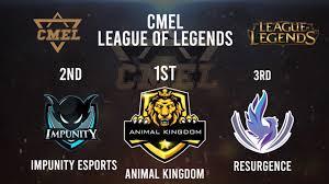 Animal Kingdom Won CMEL League Of Legends Finals in Chongqing