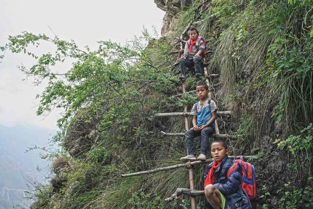At the Crossroads of Civilizations: Remote Village